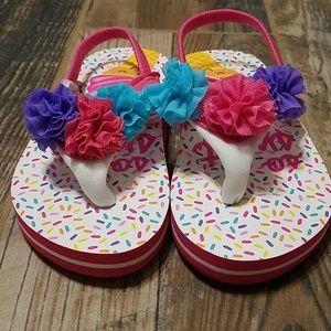 Other - Girls size 7/8 Flip Flops